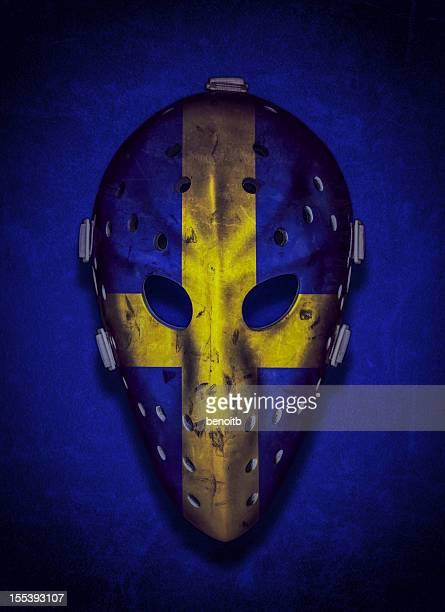 Sweden Vintage Goalie Mask