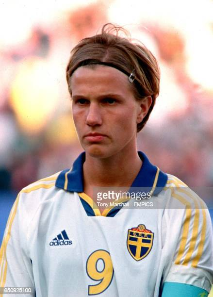 Sweden's captain Malin Andersson