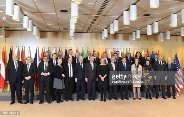 Sweden's Foreign Minister Margot Wallstrom French Foreign Minister JeanYves Le Drian Belgium's Foreign Minister Didier Reynders US Secretary of State...