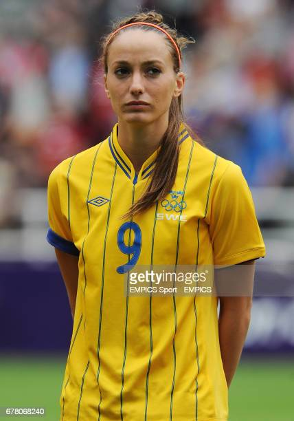 Sweden's Kosovare Asllani during the Group F match at St James' Park Newcastle