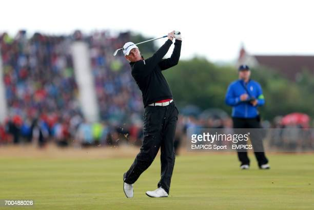 Sweden's Robert Karlsson during day three of the 2014 Open Championship at Royal Liverpool Golf Club Hoylake