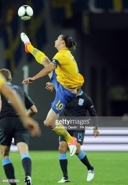 Sweden's Zlatan Ibrahimovic in action