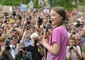 DEU: Greta Thunberg Joins Fridays For Future Protest