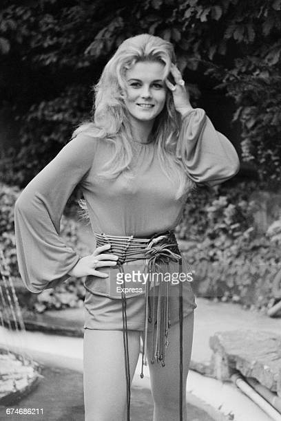 Swedish actress AnnMargret in London for the opening of her latest film 'Carnal Knowledge' UK August 1971