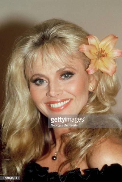 Swedish actress Britt Ekland on February 23 1989 in London England