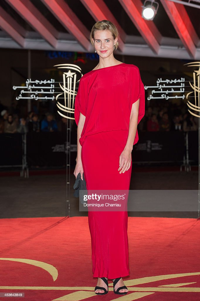 Swedish actress Edda Magnason attends the 'Waltz With Monica' Premiere At 13th Marrakech International Film Festival on December 4, 2013 in Marrakech, Morocco.
