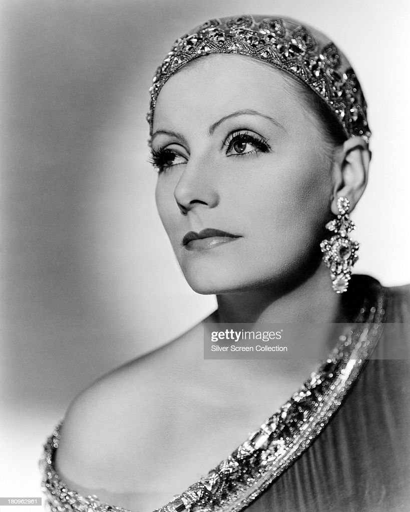 Swedish actress Greta Garbo in a promotional portrait for 'Mata Hari' directed by George Fitzmaurice 1931
