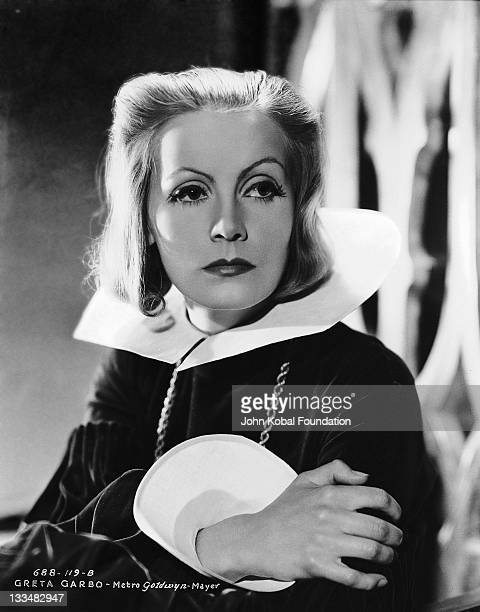 Swedish actress Greta Garbo plays the title role in the MGM film 'Queen Christina' 1933