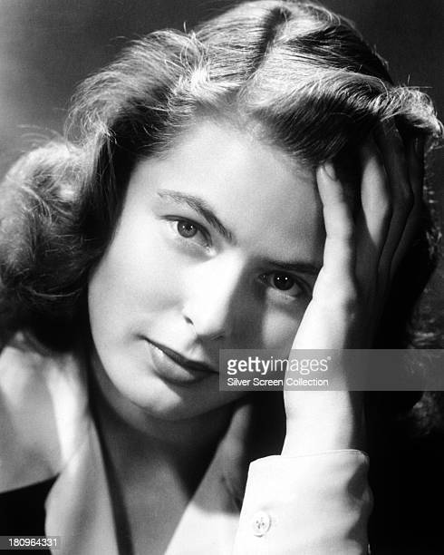 Swedish actress Ingrid Bergman circa 1940