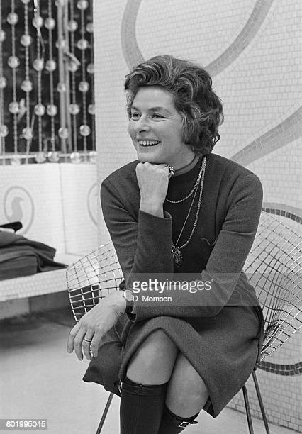 Swedish actress Ingrid Bergman in London 5th January 1971 She is in the capital to appear in a production of the play 'Captain Brassbound's...