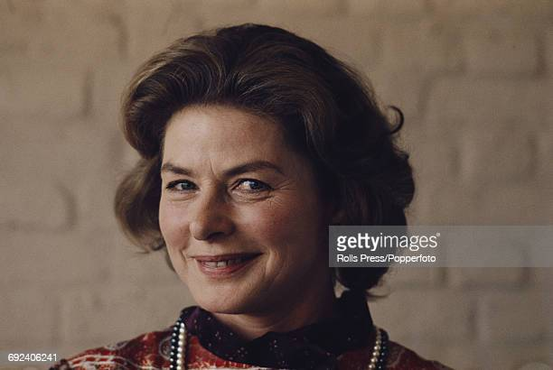 Swedish actress Ingrid Bergman posed in London in April 1971 Ingrid Bergman is currently appearing as Lady Cecily Waynflete in the West End...