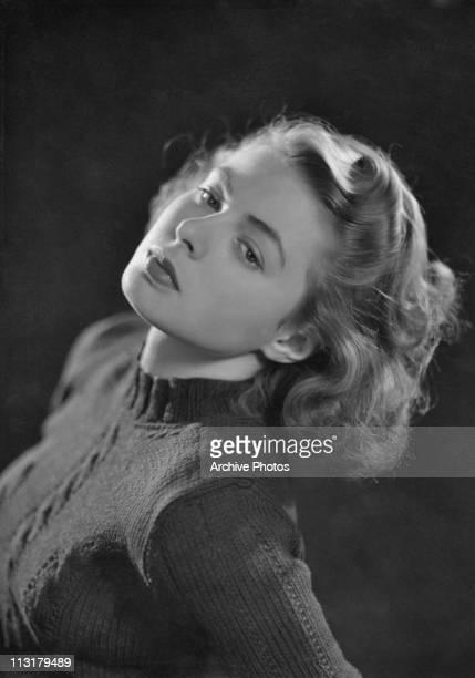 Swedish actress Ingrid Bergman poses in 1940