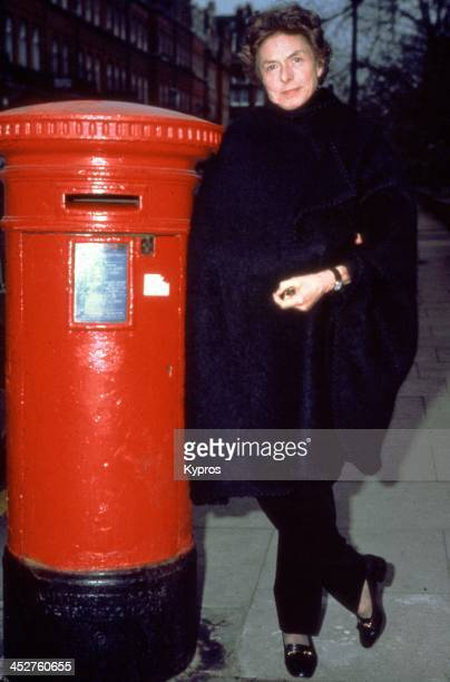 Swedish actress Ingrid Bergman UK circa 1981