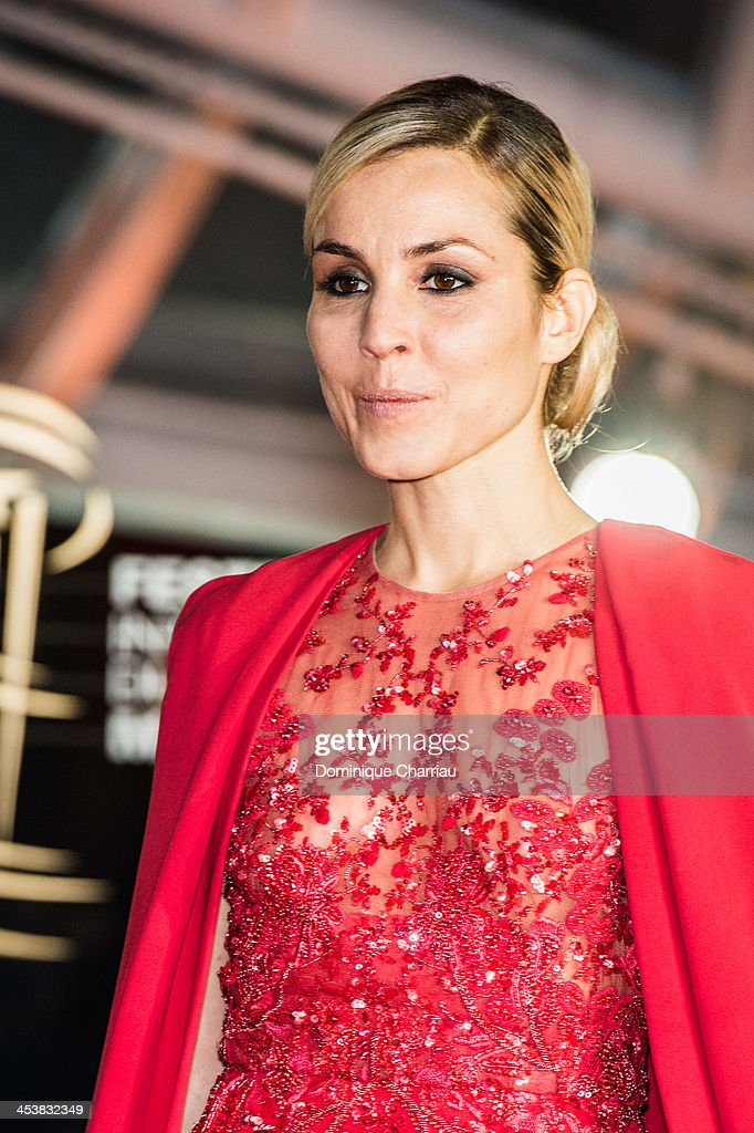 Swedish actress Noomi Rapace attends the 'Fernando Solanas' Trbute during the 13th Marrakech International Film Festival on December 5, 2013 in Marrakech, Morocco.