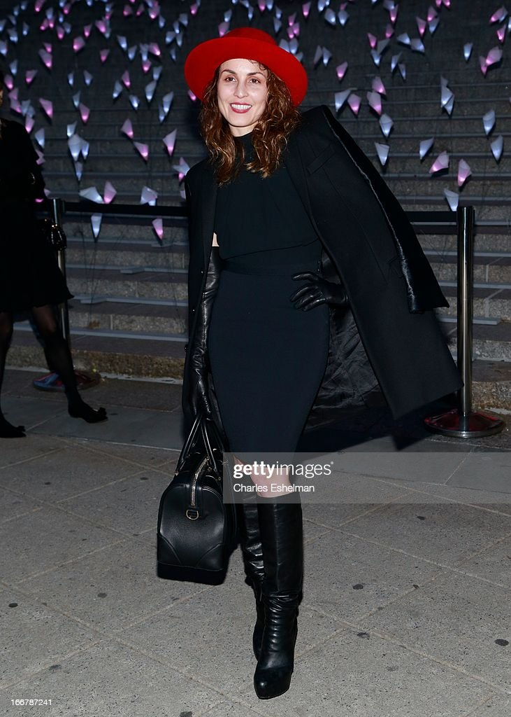 Swedish actress Noomi Rapace attends the Vanity Fair Party during the 2013 Tribeca Film Festival at the State Supreme Courthouse on April 16, 2013 in New York City.
