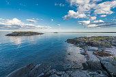 A piece of the swedish archipelago.