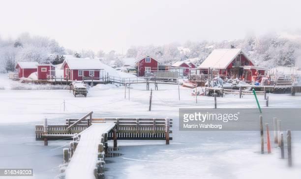Swedish coastal winter