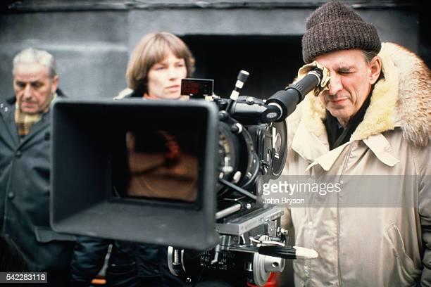 Swedish director screenwriter and producer Ingmar Bergman