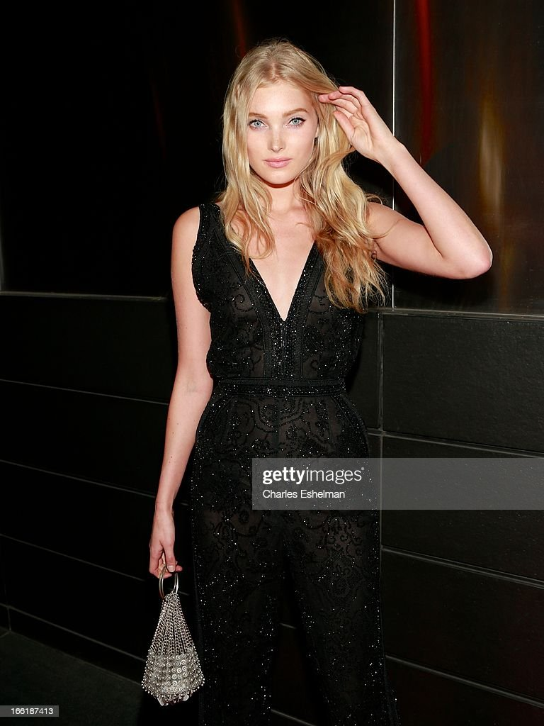 Swedish fashion model Elsa Hosk attends the New Yorker's For Children's 10th Anniversary A Fool's Fete Spring Dance at Mandarin Oriental Hotel on April 9, 2013 in New York City.