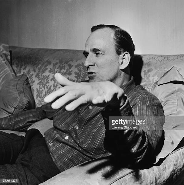 Swedish film director Ingmar Bergman in London 20th June 1969