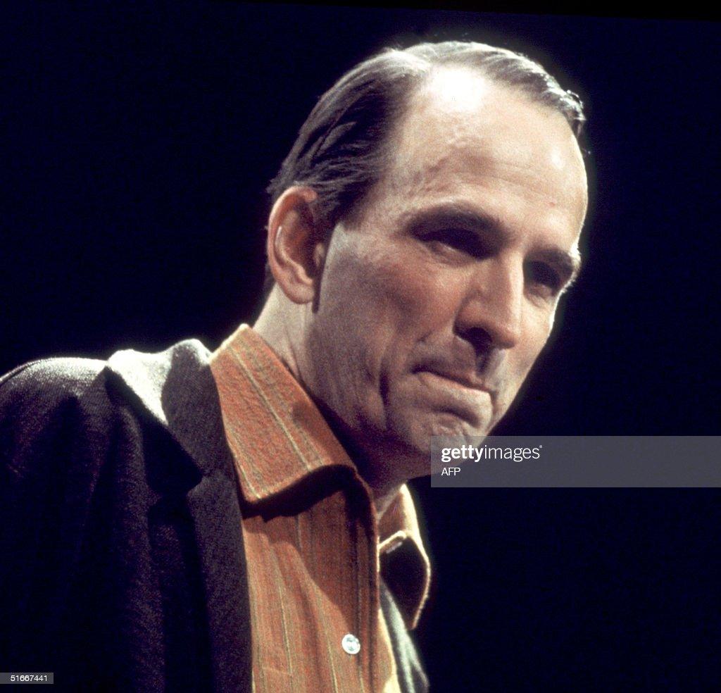 Swedish film-making legend and theater director Ingmar Bergman pictured in the 1960s in Stockholm during a theater rehearsel.