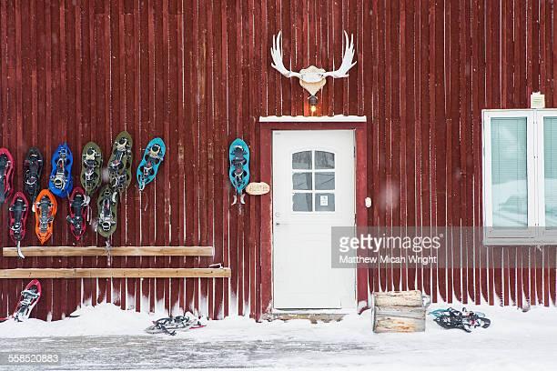 A Swedish hostel above the arctic circle