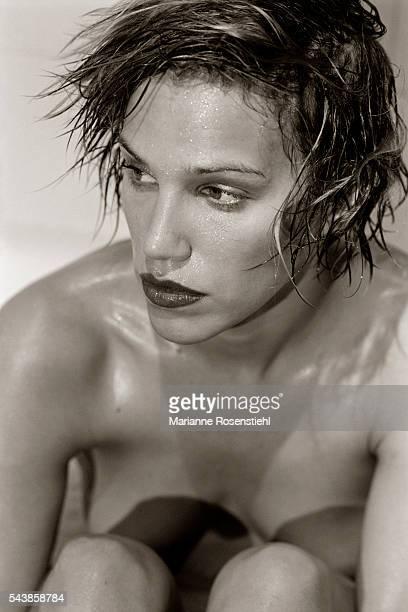 Swedish model and actress Emma Sjoberg
