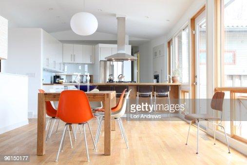 Swedish modern kitchen : Stock Photo