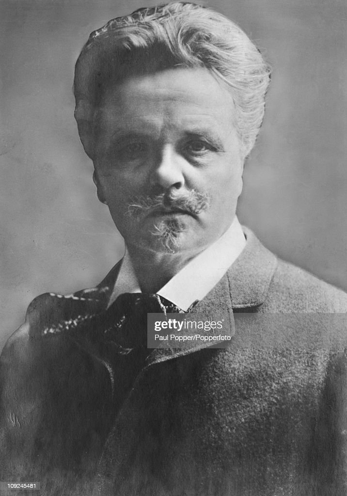 Swedish novelist and playwright <b>August Strindberg</b> (1849 - 1912), circa 1900. - swedish-novelist-and-playwright-august-strindberg-circa-1900-picture-id109245481