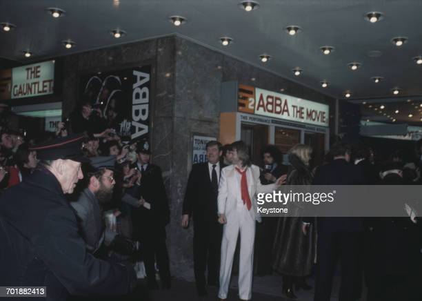 Swedish singer Björn Ulvaeus of ABBA attends the premiere of the documentary film 'ABBA The Movie' at the Odeon Leicester Square London 16th February...