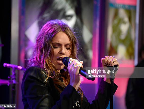 AMERICA Swedish singersongwriter Tove Lo performs live on GOOD MORNING AMERICA 3/24/15 airing on the ABC Television Network