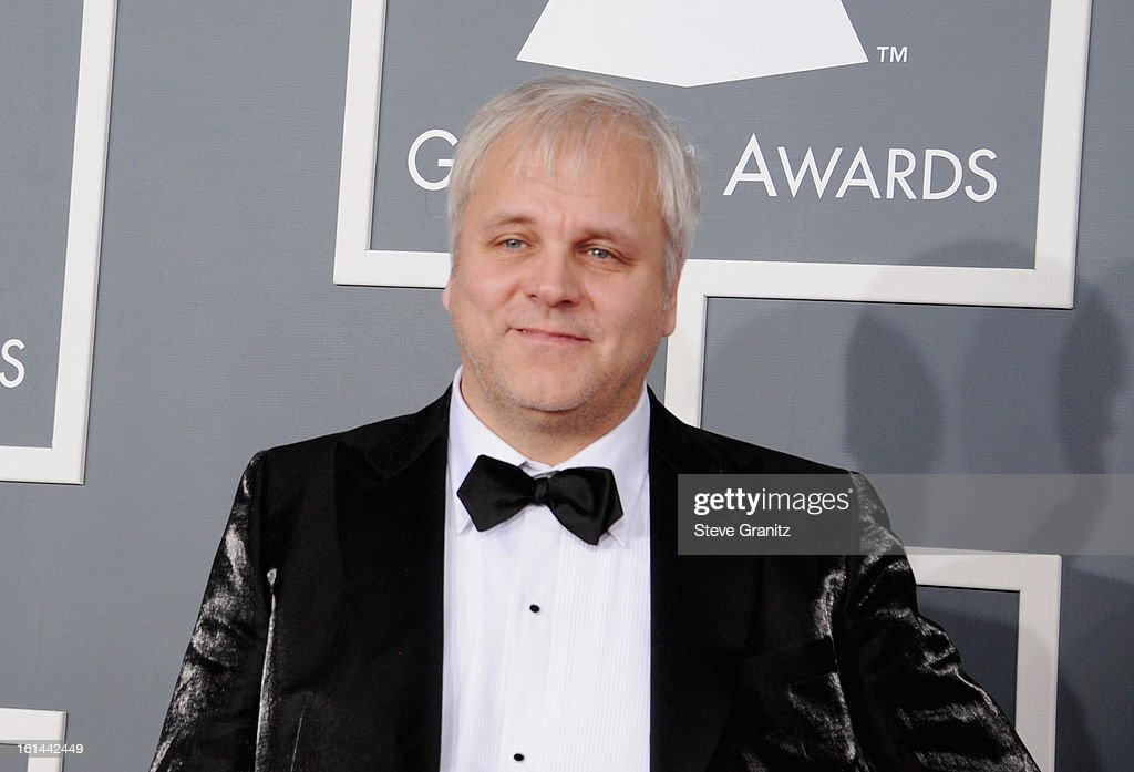 Swedish songwriter Jorgen Elofsson attends the 55th Annual GRAMMY Awards at STAPLES Center on February 10, 2013 in Los Angeles, California.