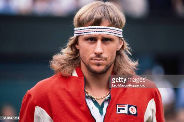 Swedish tennis player Bjorn Borg pictured during competition to reach the final and win the Men's Singles tournament by defeating Victor Pecci 63 61...