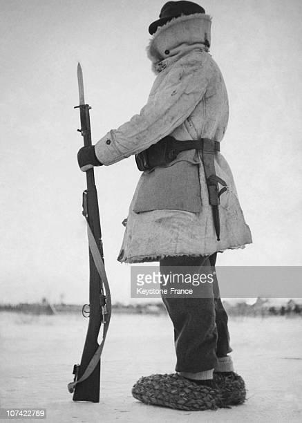Swedish Volunteer In Soviet Finnish War On January 1940