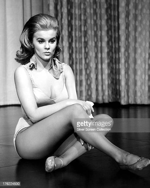 SwedishAmerican actress AnnMargret in a leotard and ballet shoes circa 1965
