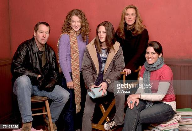 DB Sweeney Hallee Hirsh Kristen Stewart Elizabeth Perkins Jessica Sharzer writer/director at the HP Portrait Studio in Park City Utah
