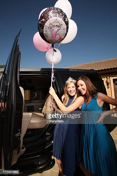Doce 16 Festa de Aniversário balões e Limo diversão em