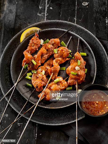 Sweet and Sour Chicken Skewers