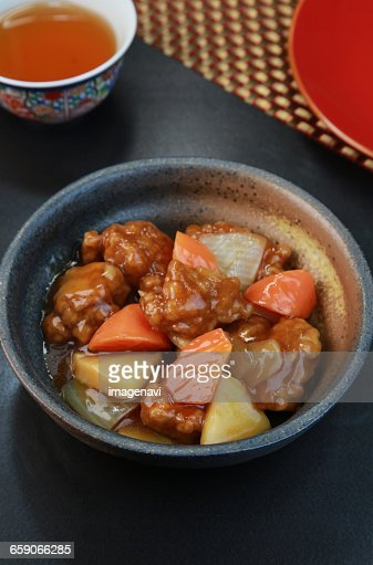 Sweet and sour pork (Subuta)