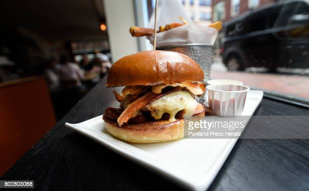 Sweet and Spicy Bacon Cheeseburger from Nosh Thursday June 22 2017