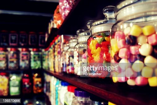 Sweet candy shop : Foto stock