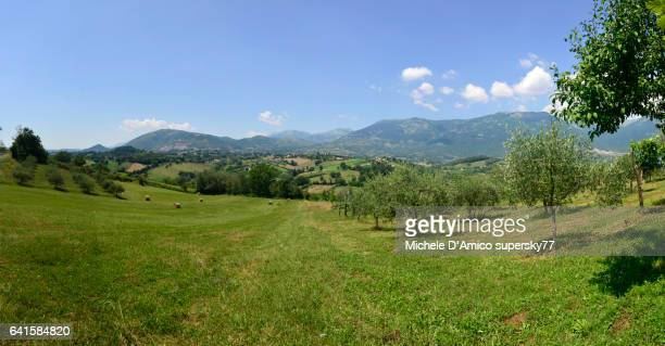 Sweet central Italian hilly landscape