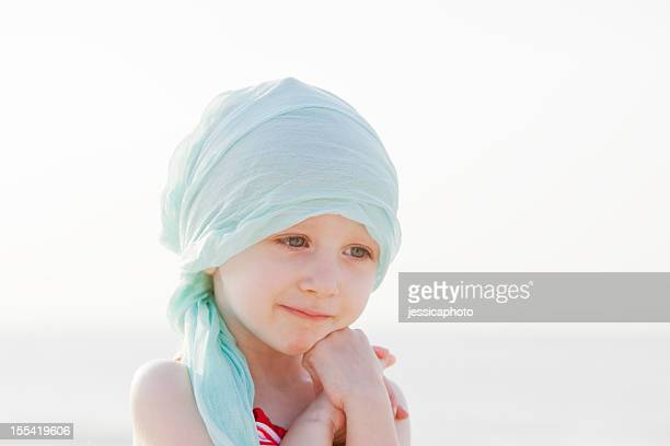 Sweet Chemo Girl At The Beach