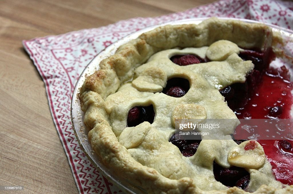 Sweet cherry pie : Stock Photo