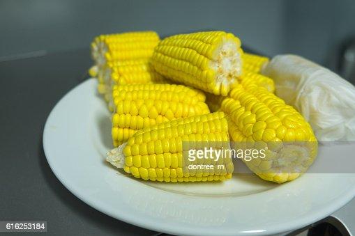 Doce corns : Foto de stock