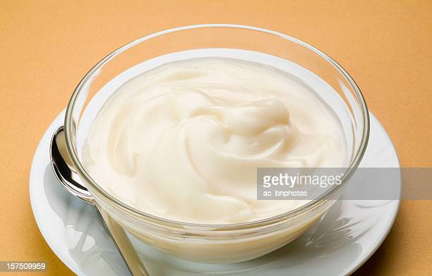 Sweet cream with milk