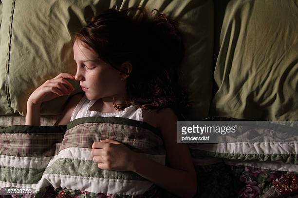 Sweet dreams to the little girl who is sleeping