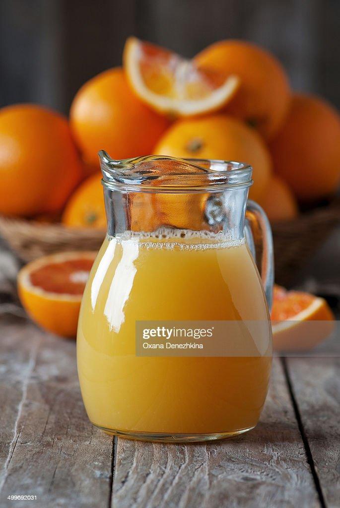 Sweet fresh orange juice