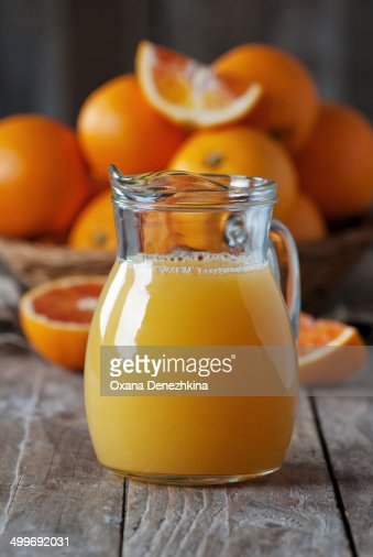Sweet fresh orange juice