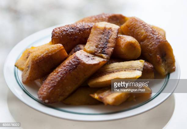 Sweet fried plantains are photographed Thursday November 1 2012 in McLean VA